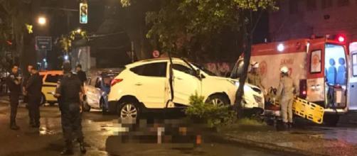 Dois bandidos trocaram tiros com a polícia militar do Rio e acabaram mortos