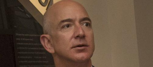 Jeff Bezos picked on by Donald Trump for unfair practices stemming from Washington Post. Photo Courtesy of DoD via Wikimedia Commons