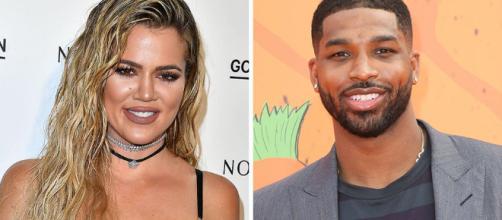 Khloe espera un hijo de su actual pareja, el jugador de los Cleveland Cavaliers Tristan Thompson
