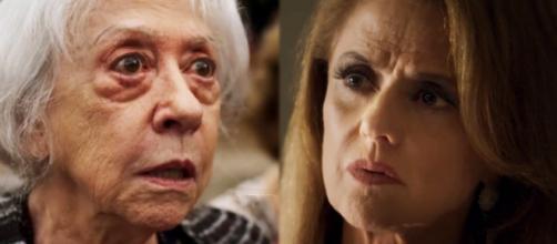 Mercedes e Sophia em 'O Outro Lado do Paraíso'