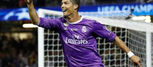 Real Madrid's Cristiano Ronaldo scores twice in Champions League ... - thesun.co.uk