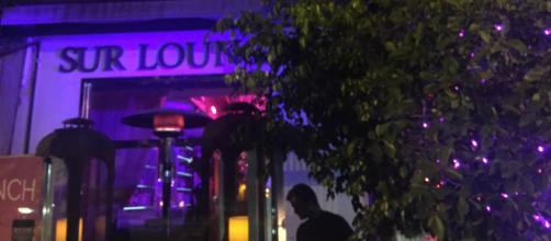 The exterior of SUR Restaurant, where 'Vanderpump Rules' is filmed. [Photo via Lindsay Cronin]