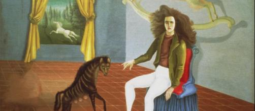The Inn of the Dawn Horse (Self-Portrait) es una de las obras que podremos apreciar en la muestra Leonora Carrington. Cuentos mágicos.
