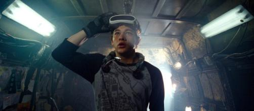 Tye Sheridan as Wade Watts, aka Parzival, on set in 'Ready Player One' [Image credit - Warner Bros Pictures | YouTube]