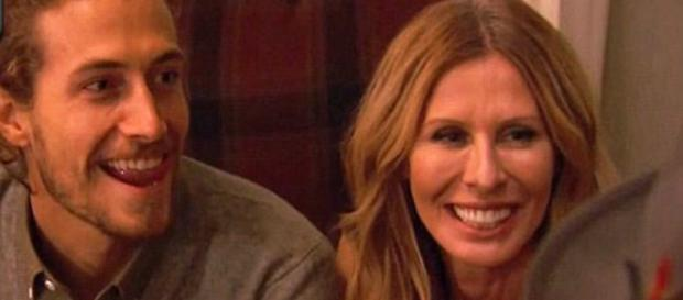 Adam Kenworth and Carole Radziwill appear on 'The Real Housewives of New York City.' - [Photo via Bravo / YouTube screencap]