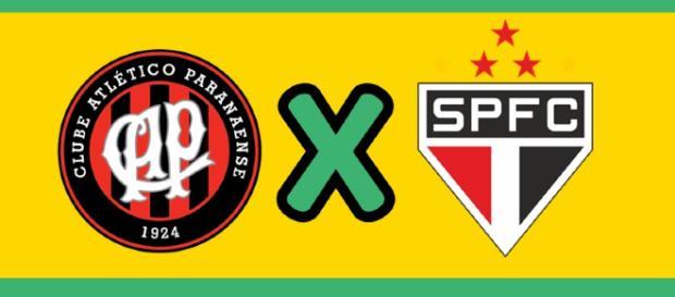 Atlético-PR x São Paulo ao vivo