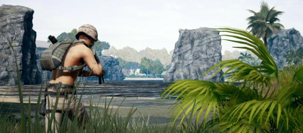 "Codename: Savage drops ""PUBG"" players on a southeast Asian tropical island to fight to the last man standing. (Image via: PUBG Corp)"