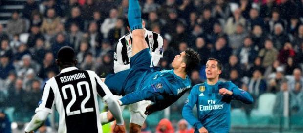 ¡La polémica que se armó en Twitter tras la chilena de Cristiano Ronaldo!