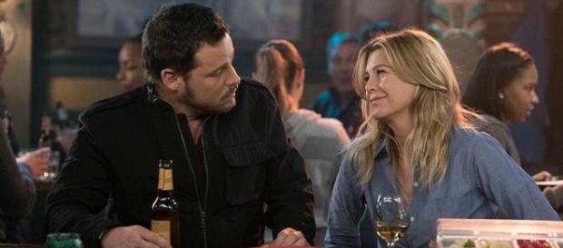 Justin Chambers - Ellen Pompeo FONTE: Spoiler tv