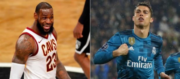 LeBron James and Ronaldo are 33-year old beasts - (Image: NBA/YouTube)