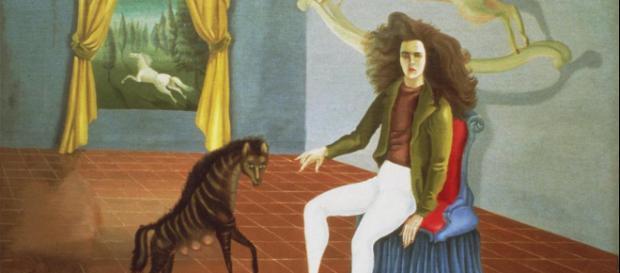 The Inn of the Dawn Horse (Self-Portrait) es una de las obras que podremos apreciar en la muestra Leonora Carrington. Cuentos mágicos.