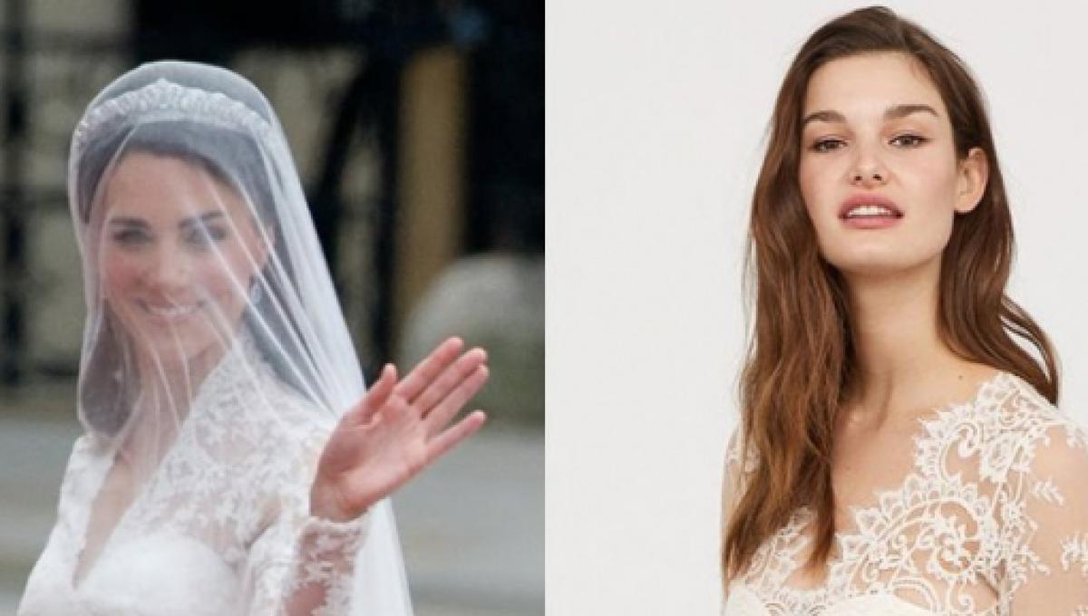 Sposa Kate Middleton Versione Cost Dell'abito Low H Di amp;mLa Da Xn0PZ8NwOk