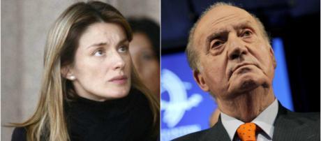 Letizia y Juan Carlos I en imagen
