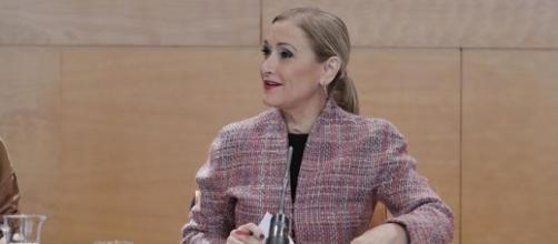 Cristina Cifuentes, presidenta de Madrid