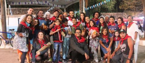 Grupo se reúne na Aldeia de Carapicuíba