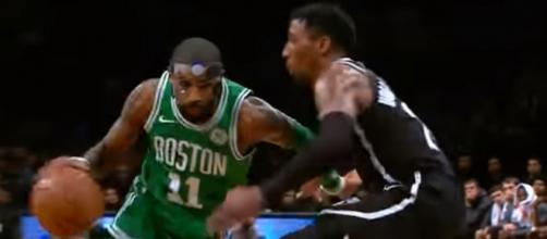 Kyrie Irving will miss the rest of the season after knee surgery [Image via ESPN / YouTube Screencap]