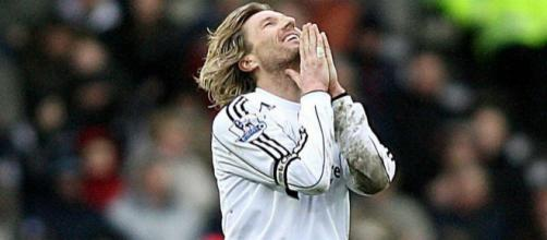 Robbie Savage joined the struggling Rams in January, but was unable to arrest their slide. Credit - mirror.co.uk