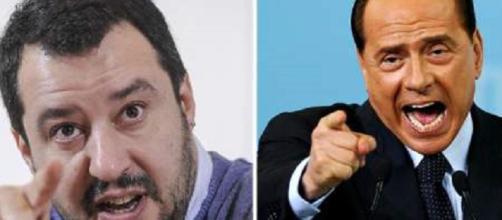 Salvini contro Berlusconi. E' fuori dai giochi