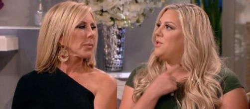 Vicki Gunvalson gives an update on her daughter Briana Culberson. [Image via Bravo]