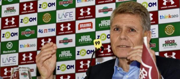 Autuori disse que time está procurando um zagueiro