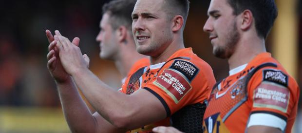 Greg Eden has committed his future to Castleford, signing a new three-year deal. Image Source - mirror.co.uk