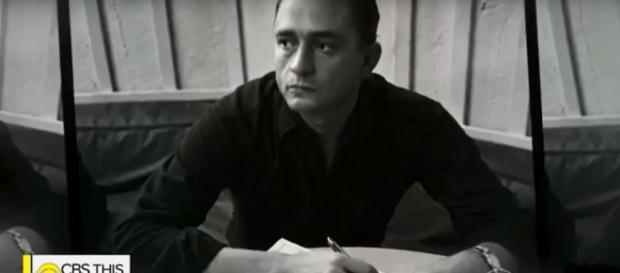 Johnny Cash's 'Forever Words' album collaboration honors authenticity and prolific expression of the composer. Screencap CBSThisMorning/YouTube
