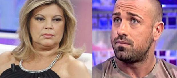 Sálvame: confrontación entre Rafa Mora y Terelu Campos