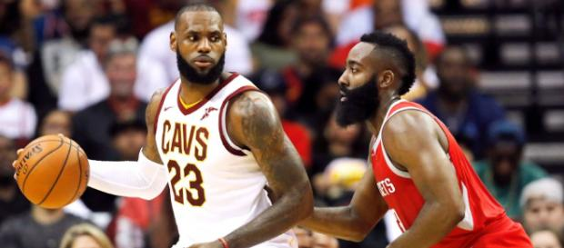 LeBron vs Harden for MVP - (Image: YouTube/Cavs)