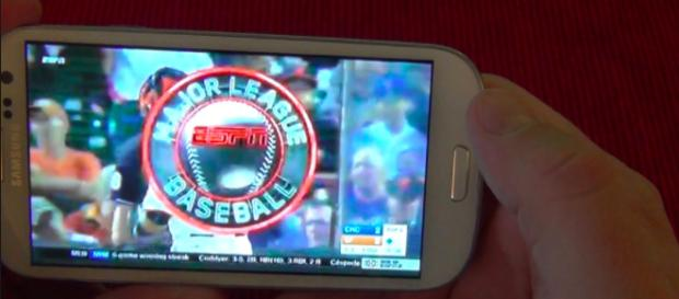 Major League Baseball is growing their game viewing accessibility at home and on-the-go in more ways than one. [Image via YouTube/Screenshot]