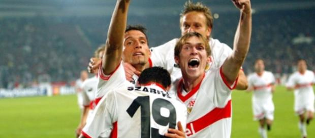 Sieg gegen Manchester United: Der VfB stürmte einst Europa