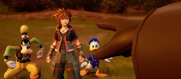 Sora, Donald, and Goofy face the threat of Organization XIII. - [BagoGames via flickr]