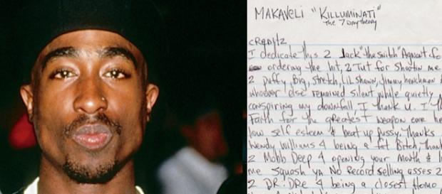 Tupac: svelata al mondo l'esistenza di un dissing contro tutta la scena