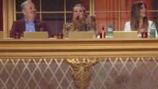 Ballando con le stelle 2018: parolaccia in diretta TV, Milly Carlucci nera