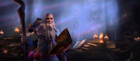 'Diablo's' Deckard Cain comes to 'Heroes of the Storm,' casts interesting spells. - [Heroes of the Storm / YouTube Screencap]