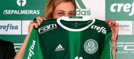 Leila Pereira é a maior investidora do clube