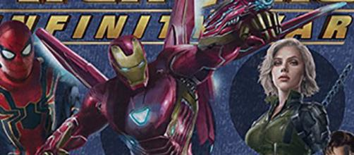 "Avengers: ""Infinity War"" el borde sangrado armadura de Iron Mans."