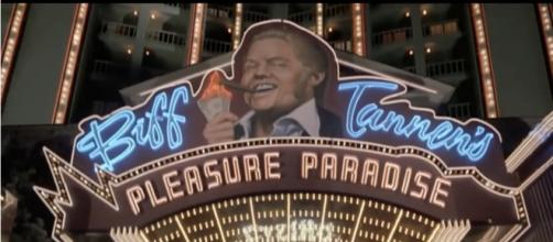 It's official, Donald Trump is Biff Tannen. - [image source: Film and Animation / YouTube screenshot]