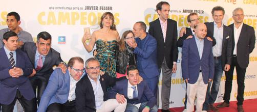 Javier Fesser y Javier Gutiérrez presentan una película de 'Campeones'