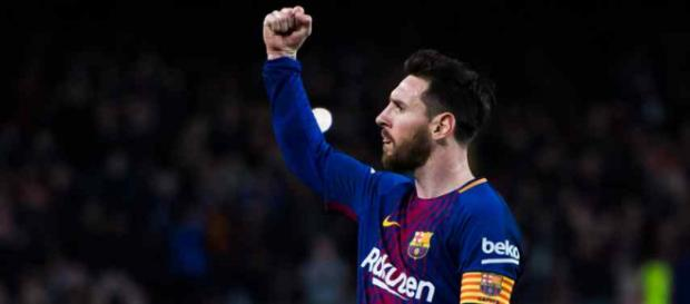 Leo Messi foi a estrela da partida