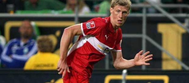 Pogrebnyak im Trikot des VfB Stuttgart