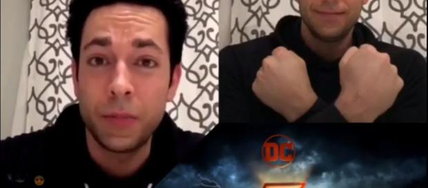 'Shazam!' star Zachary Levi shuts down negative comments on his suit. [Credit: Facebook/JusticeGods]