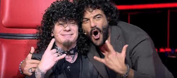 The Voice: J Ax e Francesco Renga