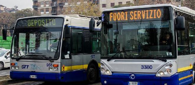 Sciopero GTT a Torino 11 aprile 2018: orari stop dei mezzi pubblici