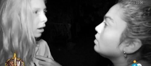 La agresión de Saray a Romina en Supervivientes