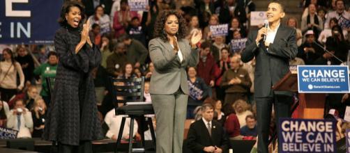 Michelle, Oprah Winfrey and Barack Obama (Image Credit: vargas2040/Wikimedia Commons)