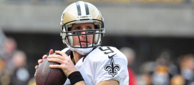Drew Brees is likely to become the all-time passing yards leader this year. [Image Source: Flickr | Brook Ward]