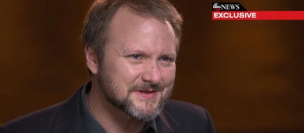 El director de Star Wars, Rian Johnson. - go.com