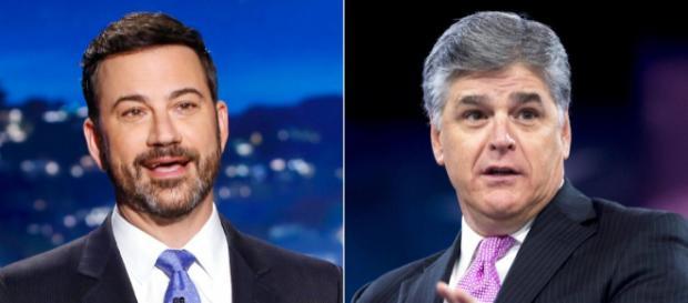 Jimmy Kimmel responds to Sean Hannity's 'ass clown' comment: 'You ... - tmssmagazine.com