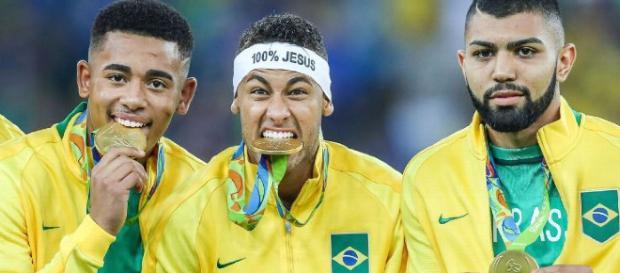 Três principais jogadores daquela Olímpiadas