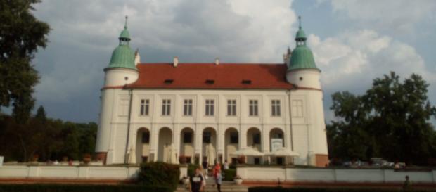 Zamek w Baranowie Sandomierskim od strony ogrodów (fot. Krzysztof Krzak)